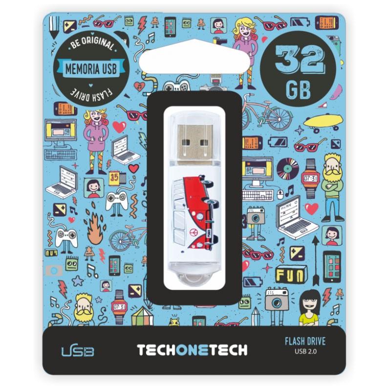 Pendrive 32GB Tech1Tech TEC4004-32 Camper Van-Van