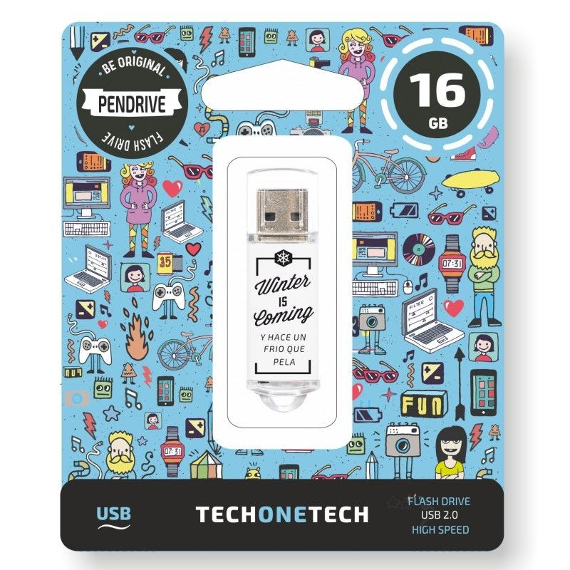 Pendrive 16GB Tech1Tech TEC4010-16 Winter Is Coming