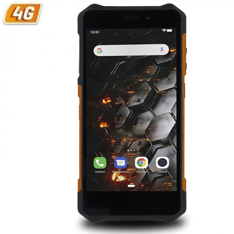 Smartphone Ruggerizado Hammer Iron 3 LTE 3GB 32GB Negro/Naranja
