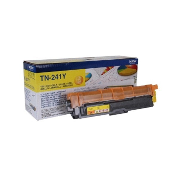 Brother TN-241Y Toner Original Amarillo