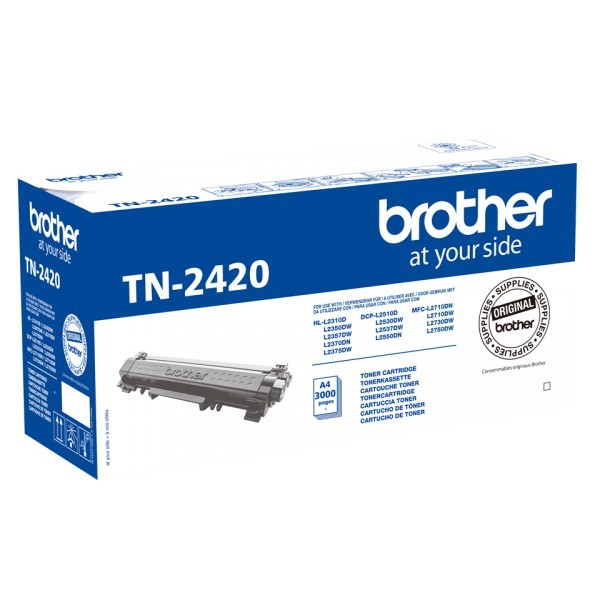 Brother TN-2420 Tóner Original Negro