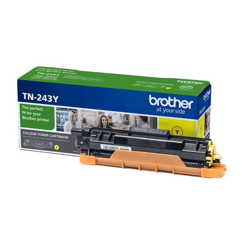 Brother TN-243Y Toner Original Amarillo
