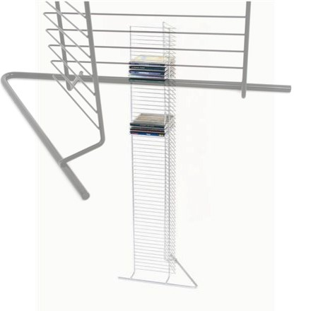 Rack/Stand 19 Para 64 CD Plata (Metalico)