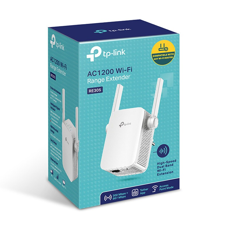 Amplificador wifi tp link re305 300mbps 867mbps - Amplificador wifi tp link ...
