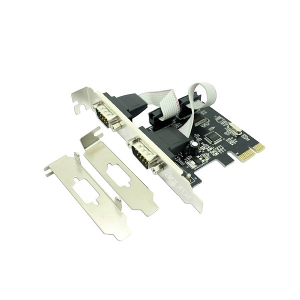 Tarjeta PCIe 2 Puertos Series Approx APPPCIE2S