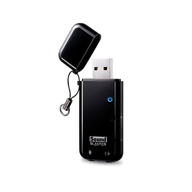Tarjeta de Sonido Externa USB SSound Blaster X-FI GO! Pro
