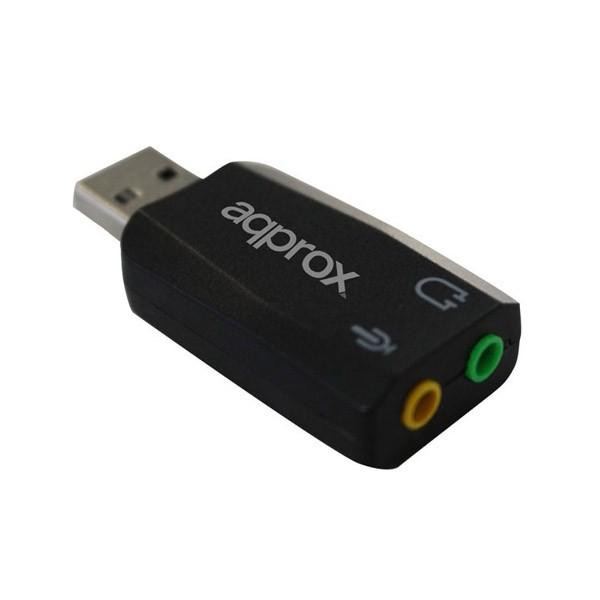 Tarjeta de Sonido USB 5.1 Approx APPUSB51
