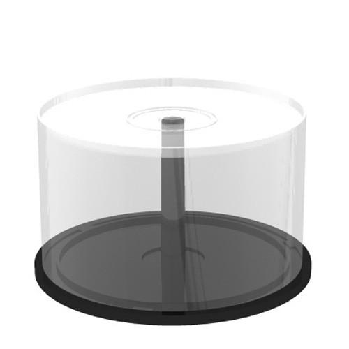 Tarrina Vacía Transparente MediaRange 50 Discos (Cakebox)