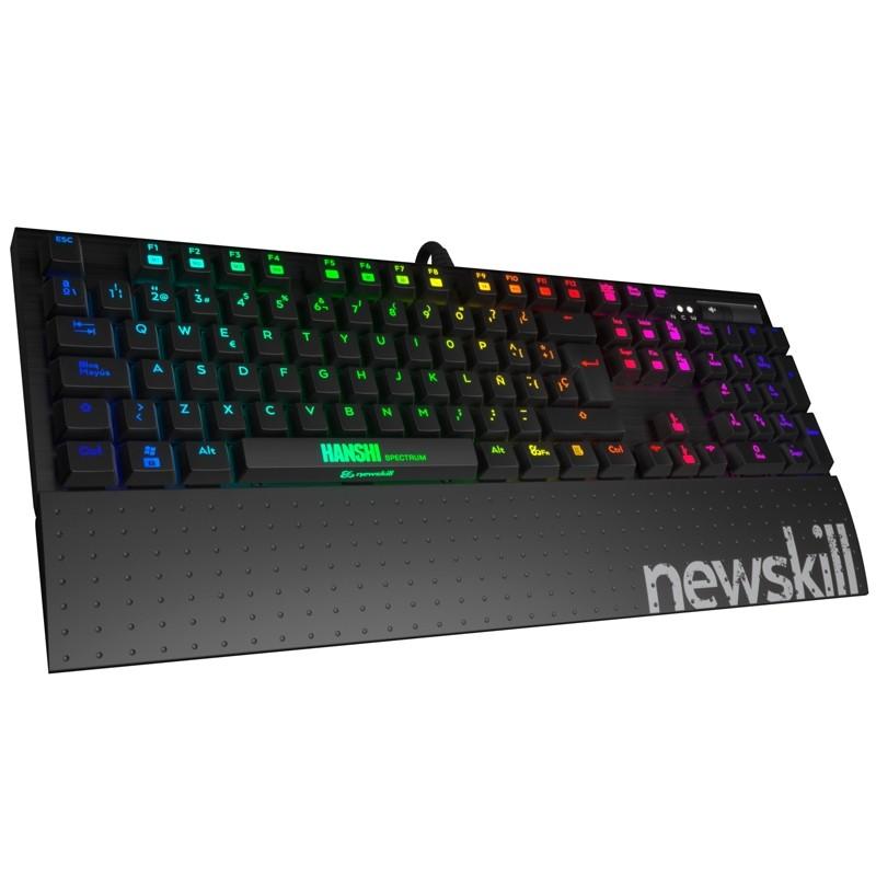 Teclado Gaming NewSkill Hanshi-Red