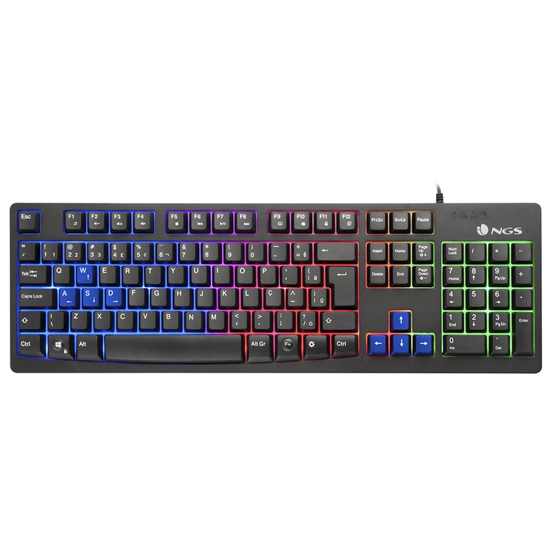 Teclado USB Gaming NGS GKX-300 LED
