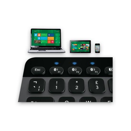 Teclado Bluetooth Logitech K810 PC/Tablet/Smartphone