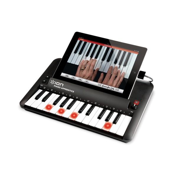 Teclado piano ion piano apprentice ipad