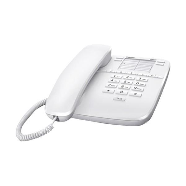 Telefono Fijo Gigaset Euroset DA310 Blanco