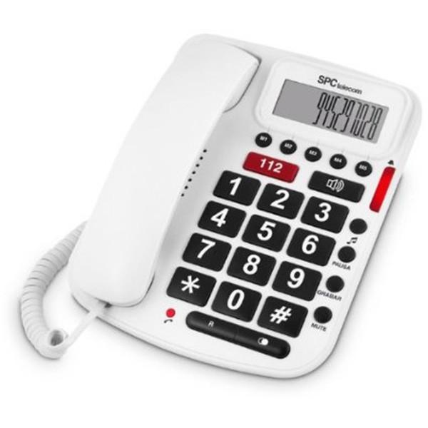 Telefono SPC Comfort Volume Blanco