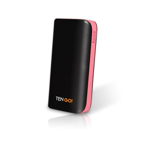 Bateria Universal Power Bank Tengo! 5200mAh Rosa