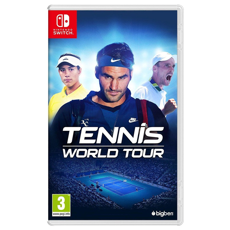 Nintendo Switch Juego Tennis World Tour