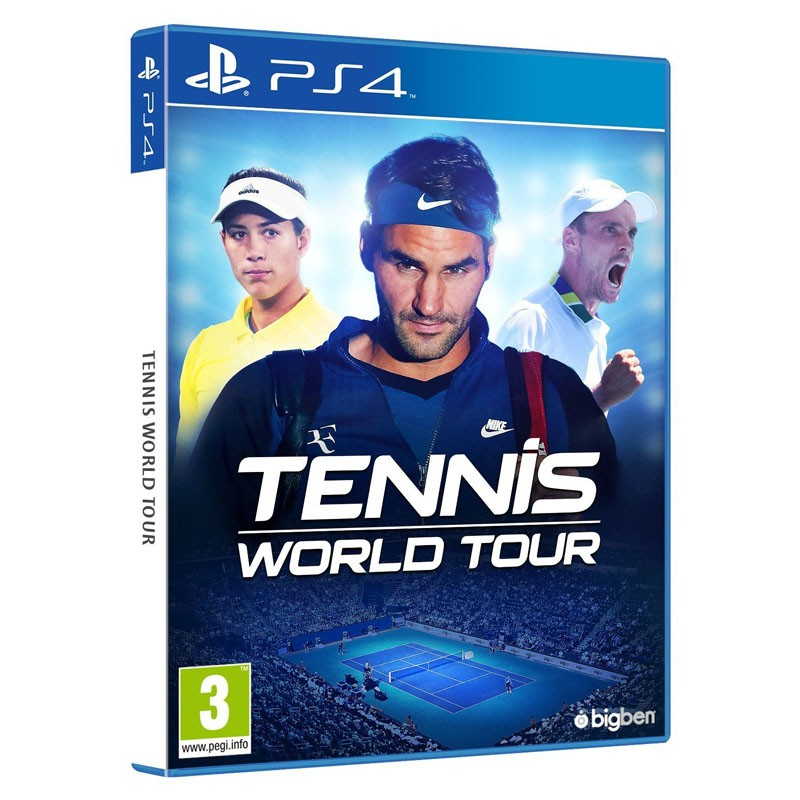 Ps4 juego tennis world tour