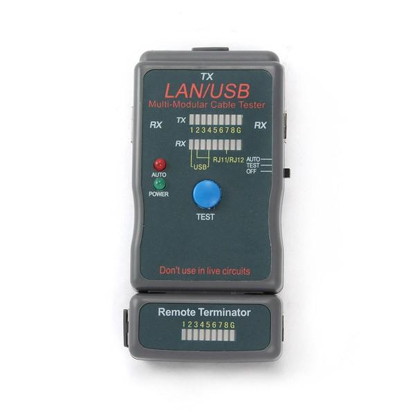 Tester de Cables UTP, STP y USB Gembird NCT-2