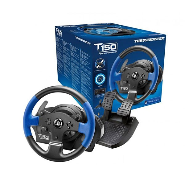 volante thrustmaster t150 ps4 ps3 pc. Black Bedroom Furniture Sets. Home Design Ideas
