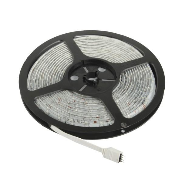 Tira LED Impermeable 12V 60 LED/12W x Metro - RGB (5m)