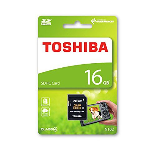 Toshiba N102 Tarjeta SDHC 16GB Clase 4