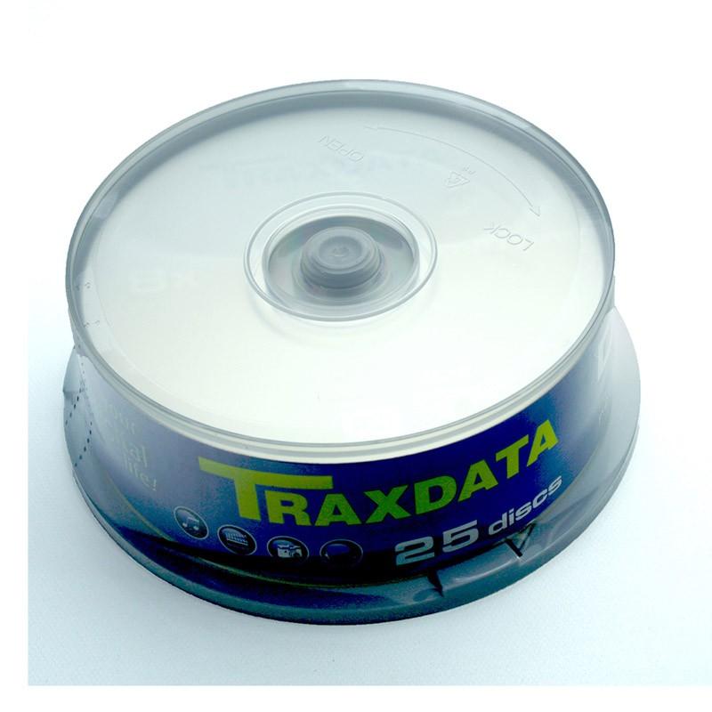 DVD+RW 8x Traxdata 9037A3ITRA005 Tarrina 25 uds