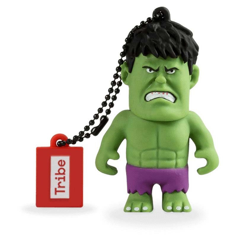 Pendrive 16GB Tribe Marvel Hulk