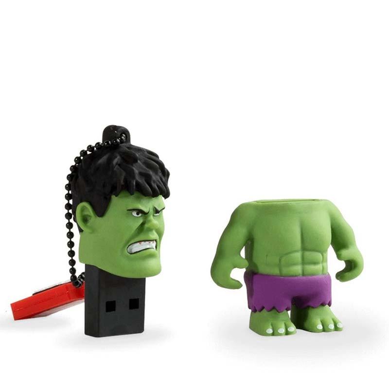 Pendrive 16GB Tribe Marvel Hulk