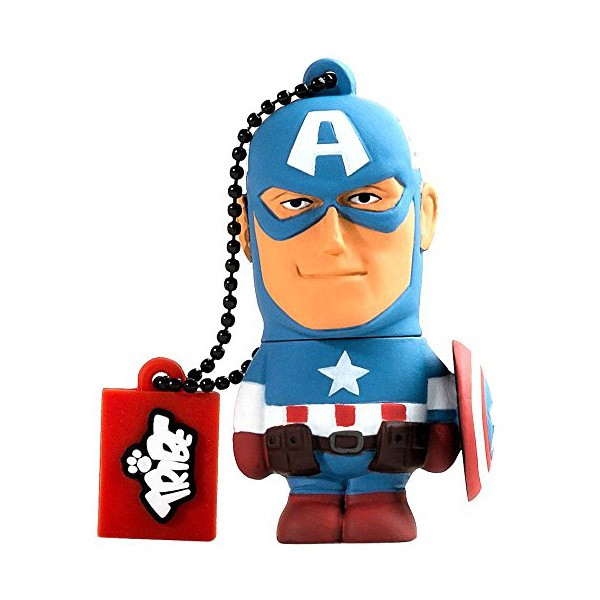 Pendrive 16GB Tribe Marvel Capitan America
