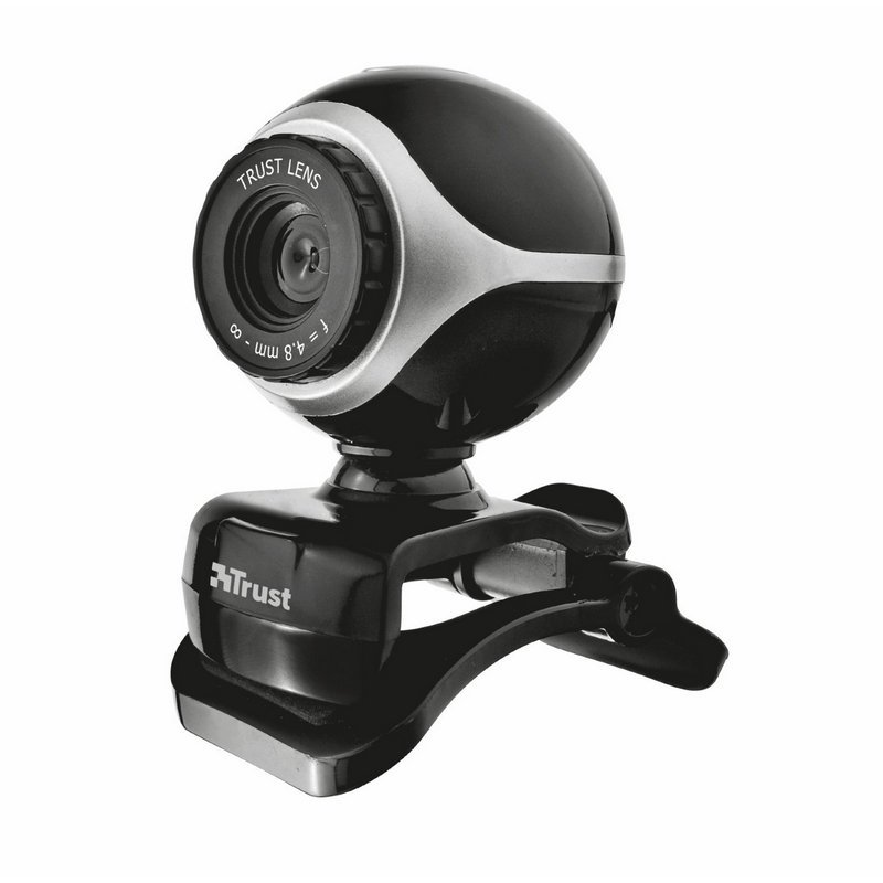 Webcam TRUST EXIS 640X480 Con Pinza Ajustable