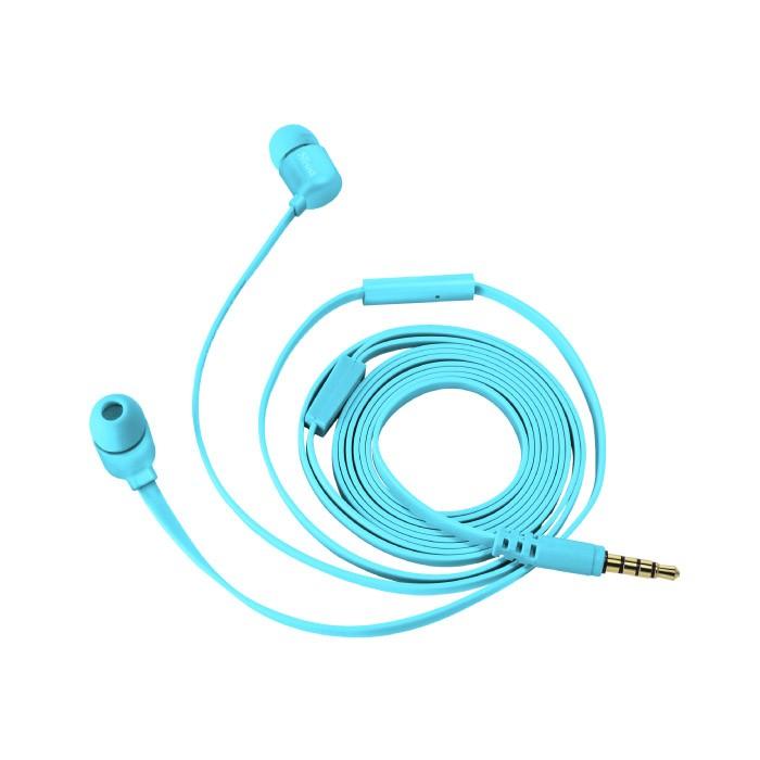 Auriculares con Micrófono Trust Duga In-Ear Neon Blue