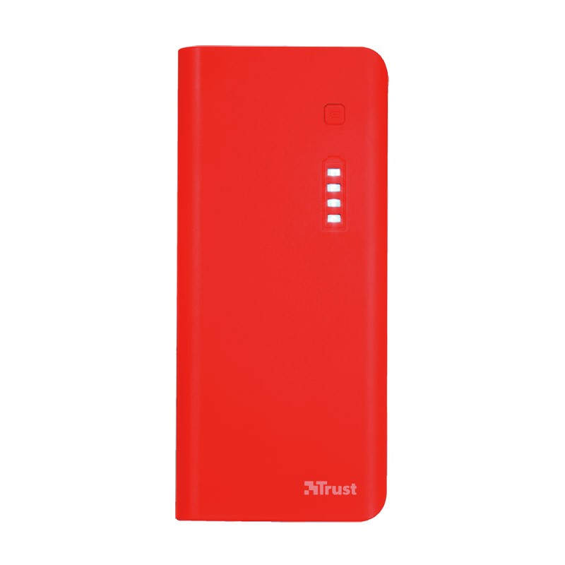 Power Bank Trust Primo 10.000 MAH Red
