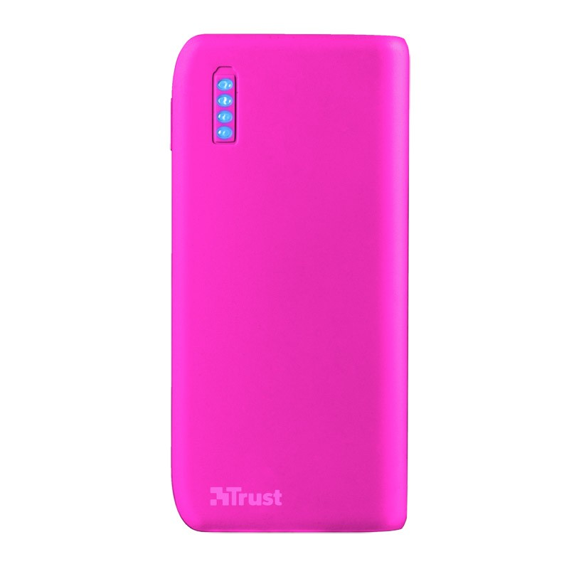 Power Bank Trust Primo 4400MAH Neon Pink