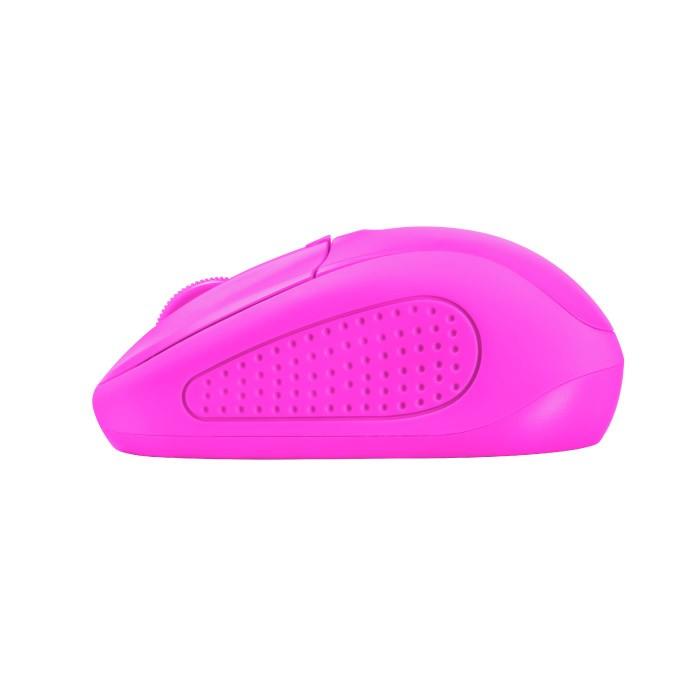 Ratón Inalámbrico Trust Primo Wireless Neon Pink