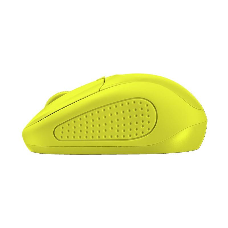 Ratón Inalámbrico Trust Primo Wireless Neon Yellow