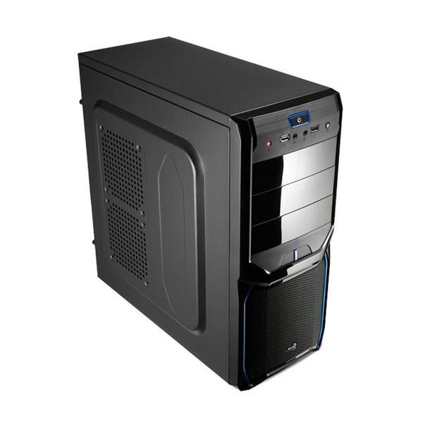Caja PC Semitorre ATX AeroCool V3X Advance Evil Blue Edition