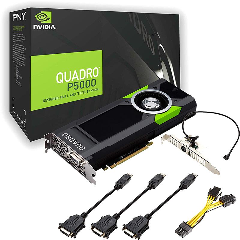 Tarjeta Gráfica PNY Quadro P5000 16GB GDDR5 VR