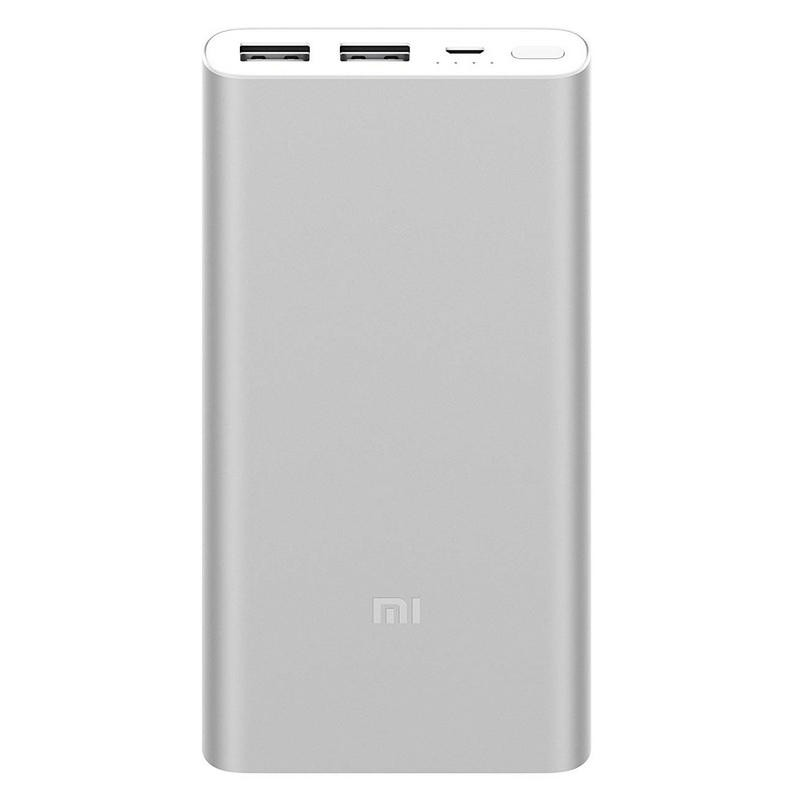 Bateria Portable PowerBank Xiaomi Mi Power Bank 2S Plata 10.000 mAh