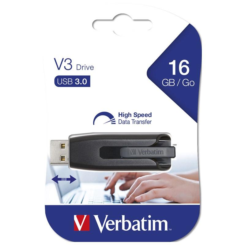 Pendrive 16GB Verbatim V3 USB 3.0
