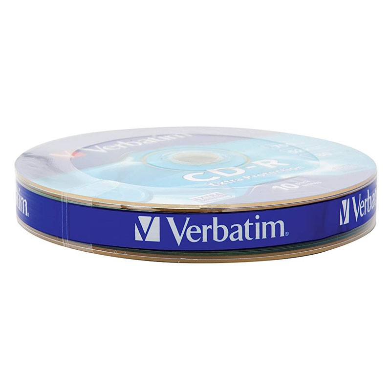 CD-R 52x 700MB Verbatim Extra Protection Bobina 10 uds