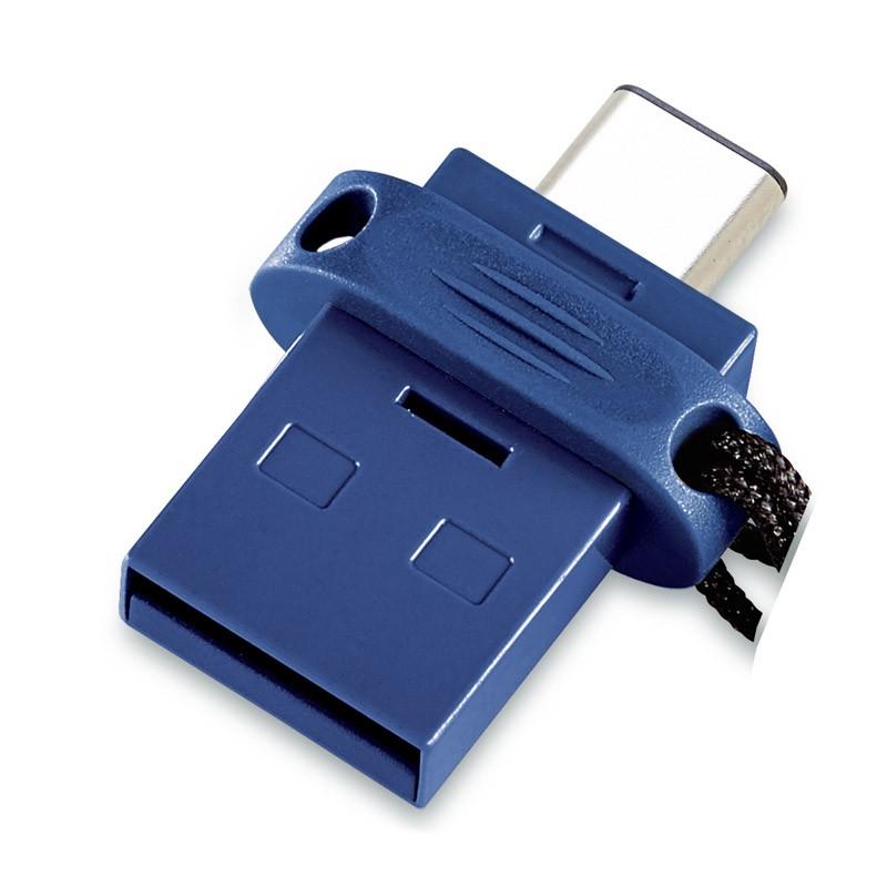 Pendrive 64GB con USB Tipo-C y USB 3.0 Verbatim Dual Tipo C