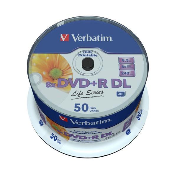 dvd-r-dl-verbatim-8x-doble-capa-printable-50-uds