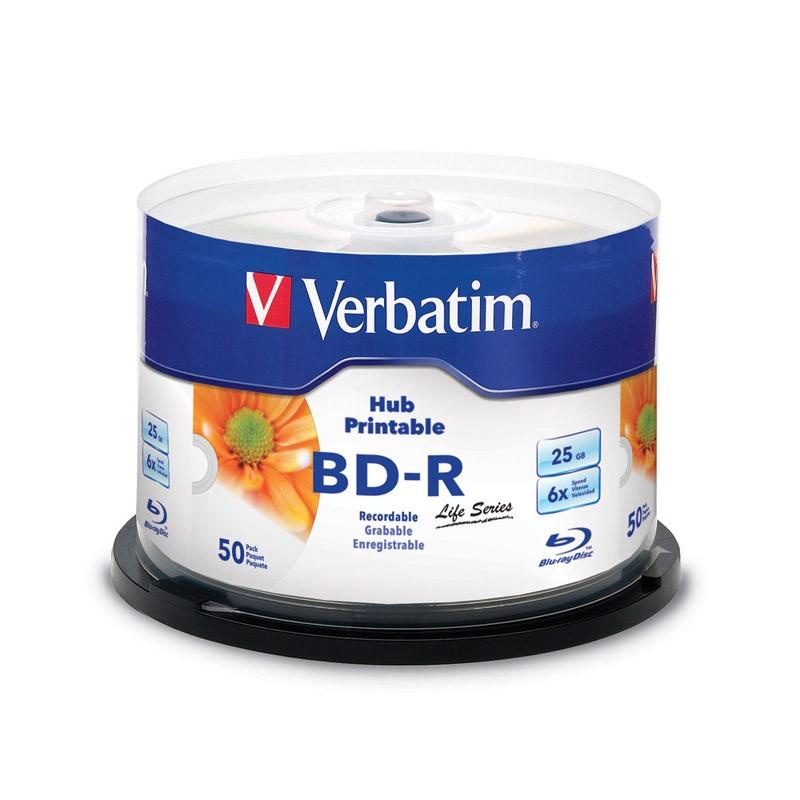 blu-ray-bd-r-sl-25gb-6x-verbatim-ff-inkjet-printable-tarrina-50-uds