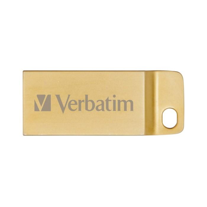 Pendrive 32GB Verbatim Metal Executive USB 3.0 Dorado