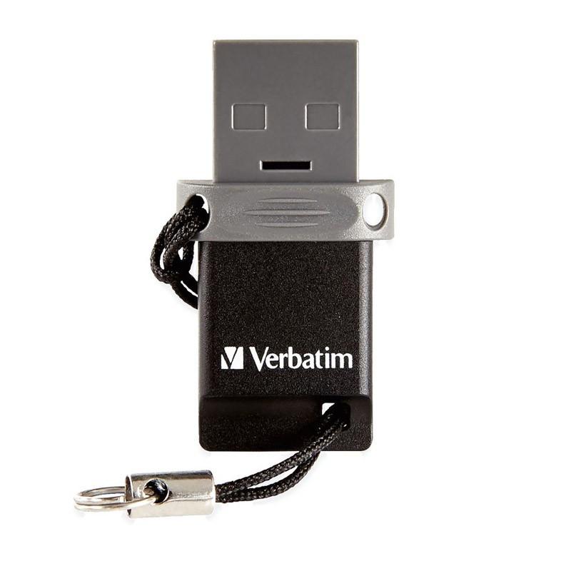 Pendrive 64GB con MicroUSB Verbatim Dual