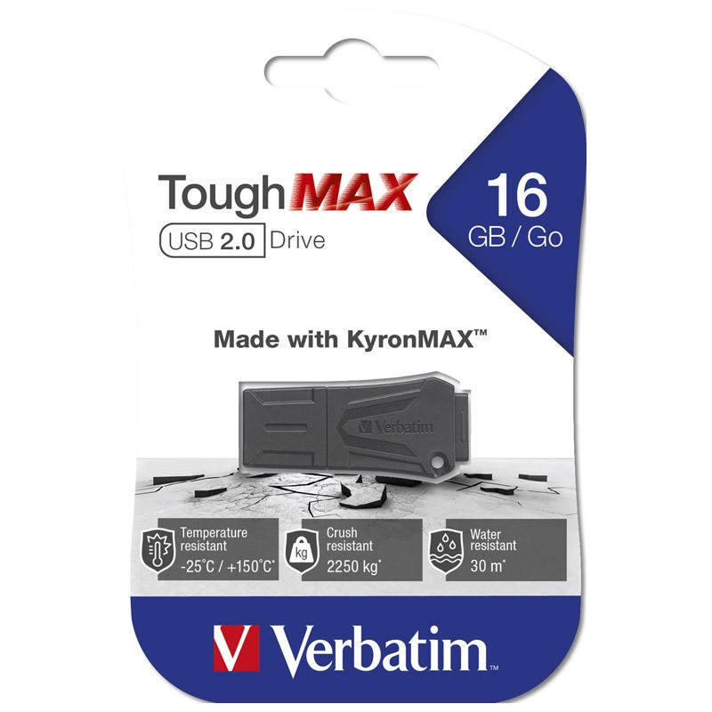 Pendrive 16GB Verbatim ToughMAX