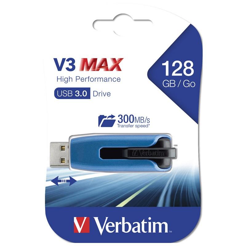Pendrive 128GB Verbatim V3 Max USB 3.0