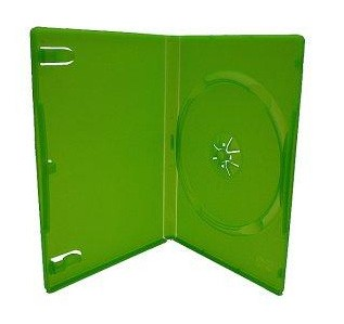mediarange-caja-dvd-14mm-25-uds-verde