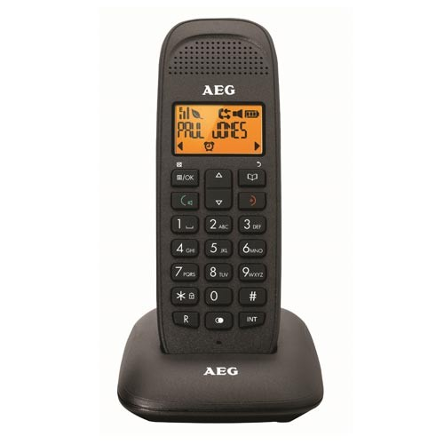 Telefono Inalambrico AEG Voxtel D81 Negro