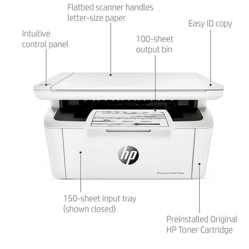 Impresora Multifunción Láser Monocromo HP Laserjet Pro M28A USB